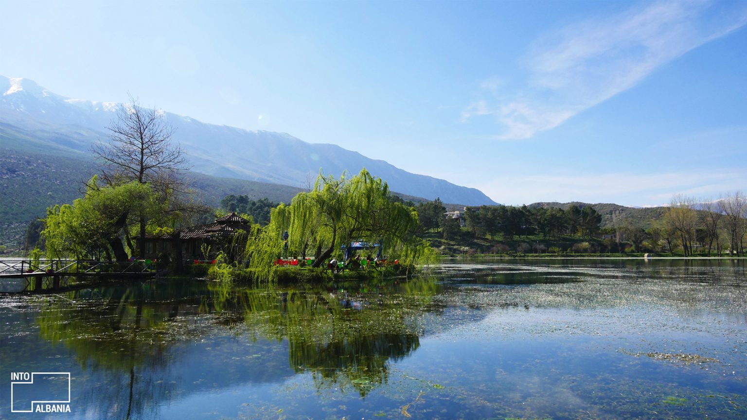 Viroi Lake, Gjirokastra, photo by IntoAlbania