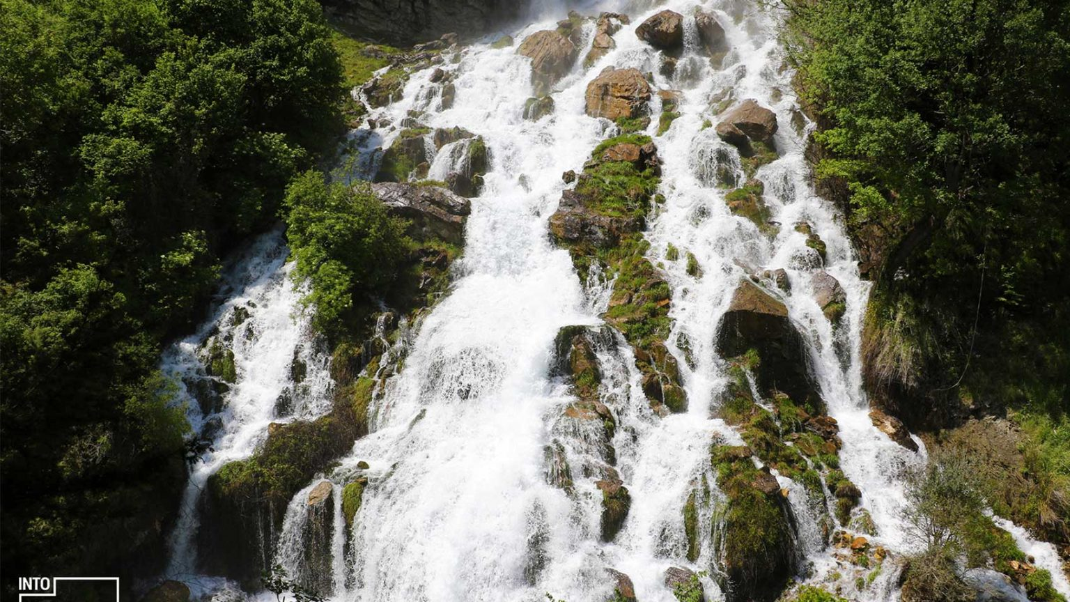 Sotira Waterfall in Gramsh, Elbasan, photo by IntoAlbania.