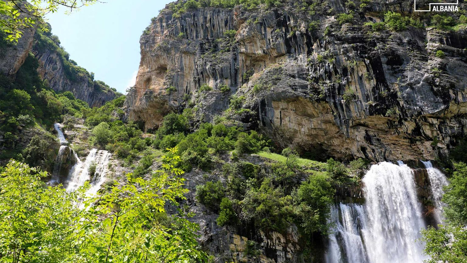 Sotira Waterfall in Gramsh, Elbasan, photo by IntoAlbania