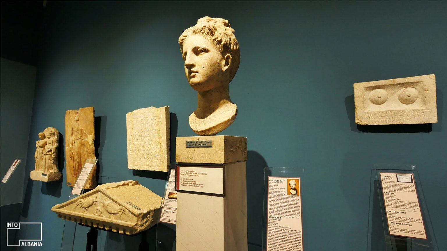 Dea e Butrintit, Muzeu Historik Kombëtar, Tiranë, foto nga IntoAlbania