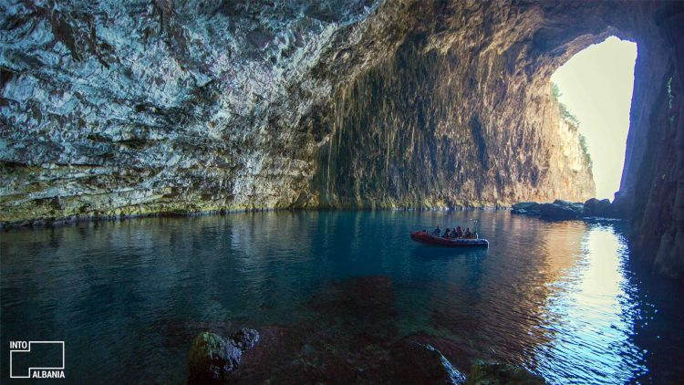 Sazan Island, Cave, South Albania, Vlora
