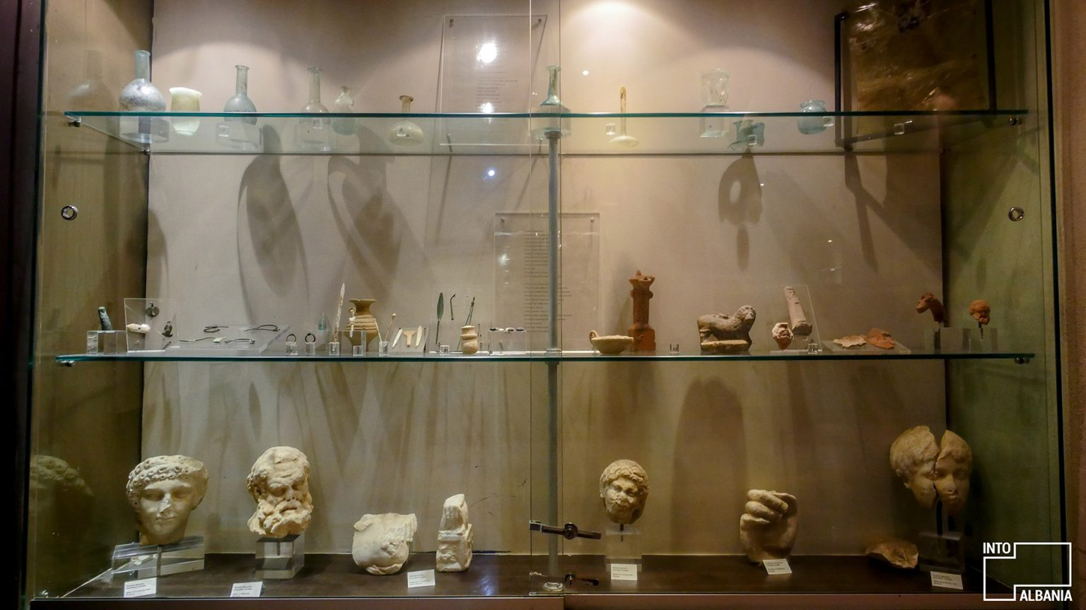 Muzeu Arkeologjik i Butrintit, foto nga IntoAlbania.
