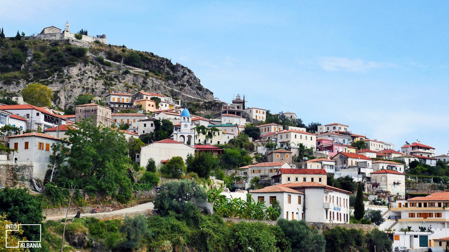 Dhërmi Village, Vlora, photo by IntoAlbania