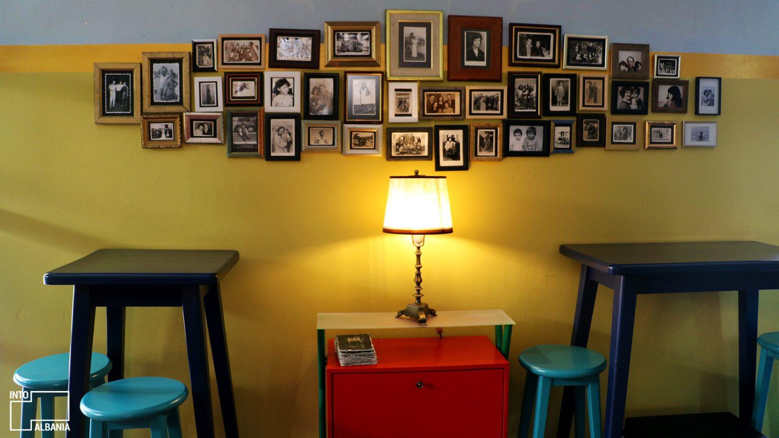 Kino bar interior, photo by IntoAlbania.