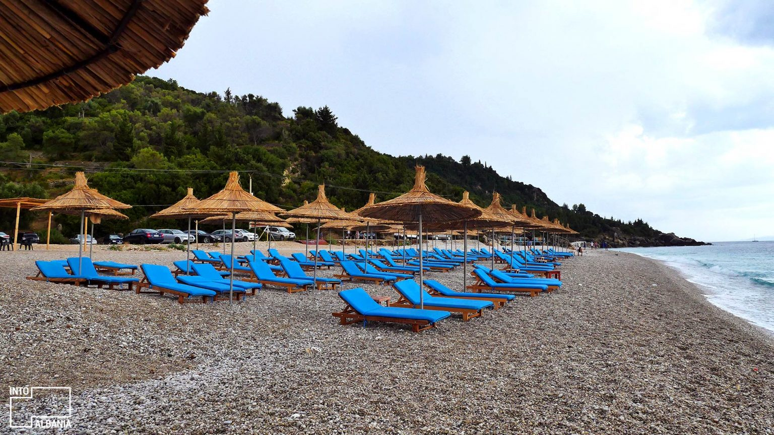 Livadh beach, photo by IntoAlbania