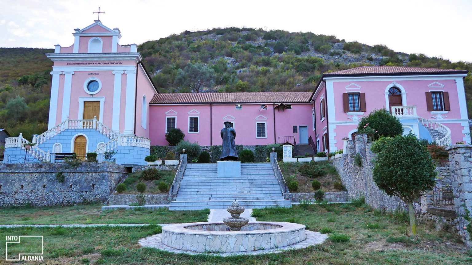 """Ndre Mjeda"" Center, Shkodra, photo by IntoAlbania."