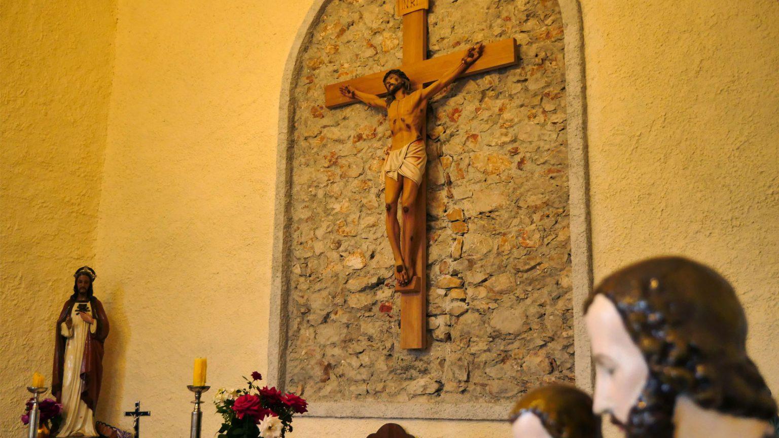 Kishë në brendësi të qendrës