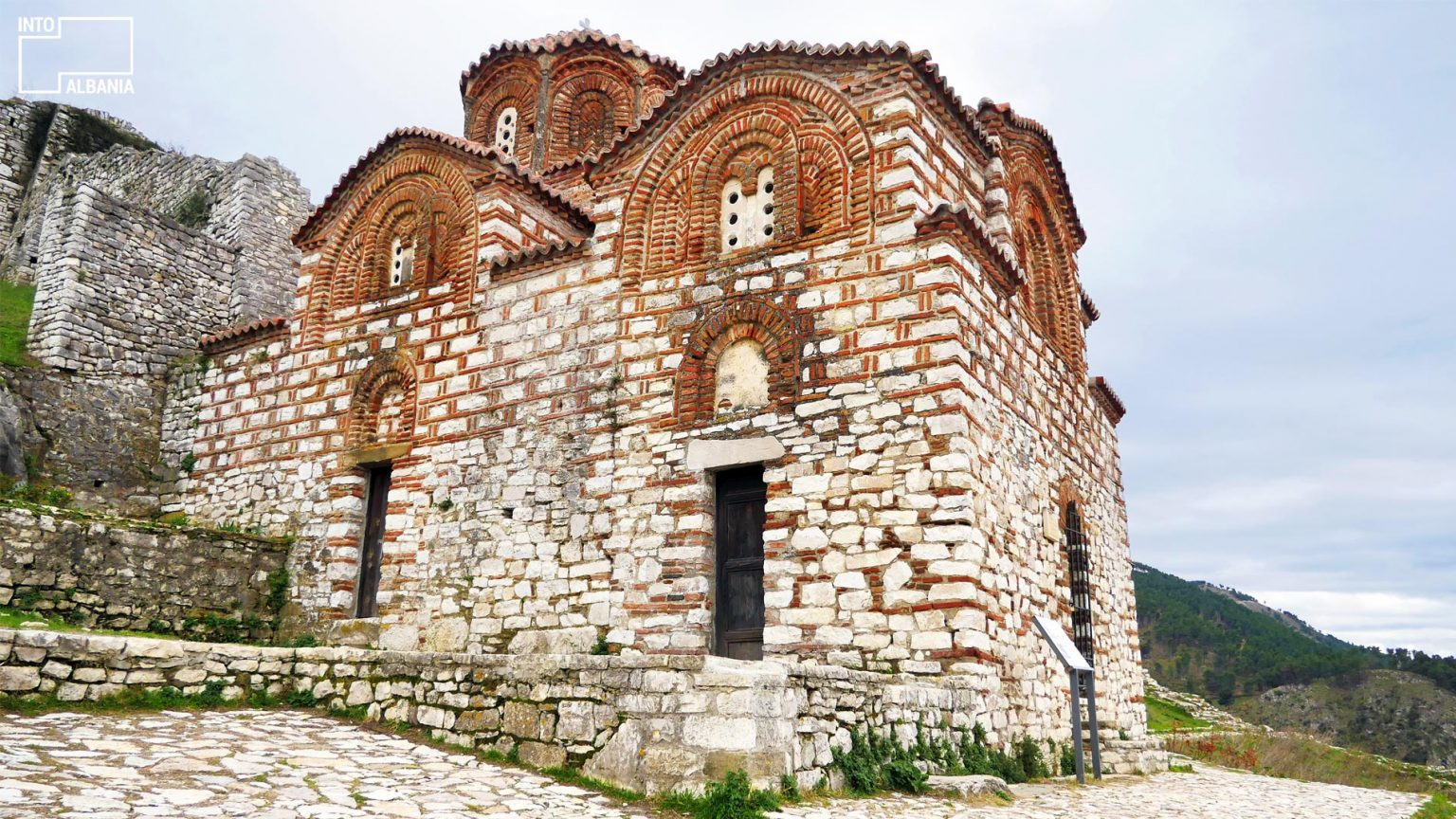 Holy Trinity Church, Berat Castle. Photo by IntoAlbania