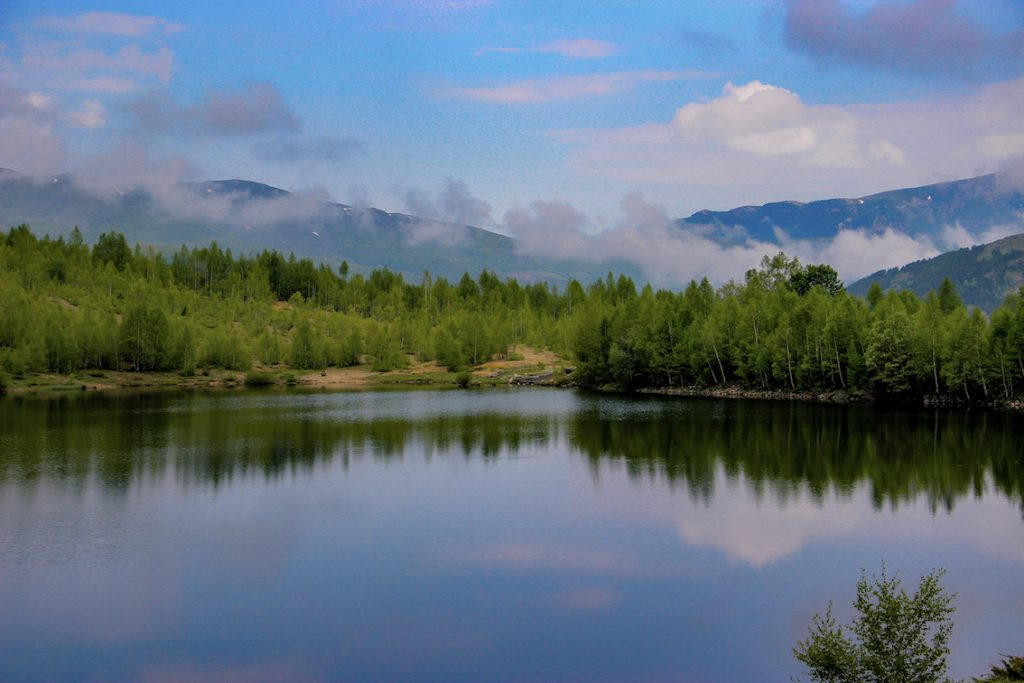 Novoseja Lake in Kukës. Photo by Jurgen Kushta