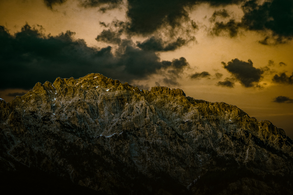 Jezerca Peak of the Dinaric Alps. Photo by Jurgen Kushta