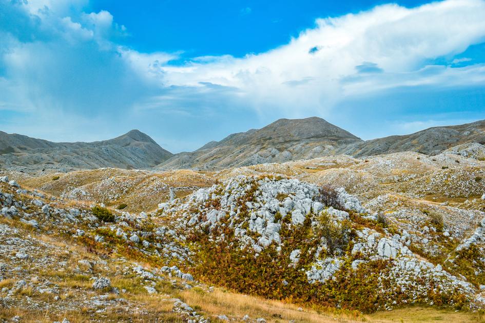 Mountain with Holes, near Tirana. Photo by Jurgen Kushta